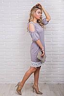 LUREX Коктейльное платье - кофейный цвет, S