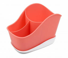 """Сушилка для столовых приборов """"Krita"""", цвет коралл"""