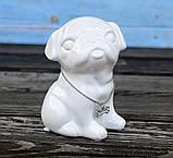Копилка собачка Doglady белая керамика h13см 4506700, фото 2