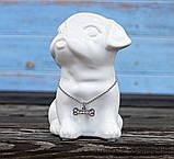 Копилка собачка Doglady белая керамика h13см 4506700, фото 3