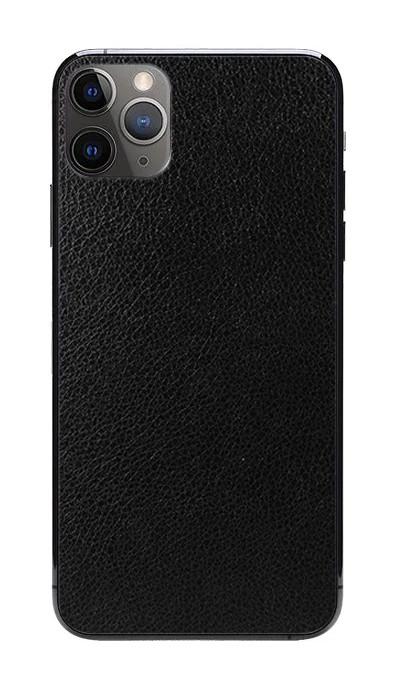 Універсальна плівка на задню панель для смартфона Rock Space Шкіра Чорний (726386)