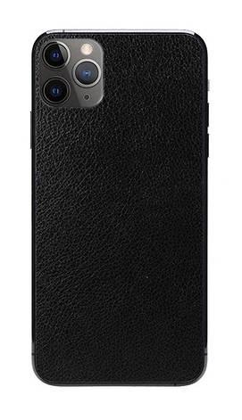 Універсальна плівка на задню панель для смартфона Rock Space Шкіра Чорний (726386), фото 2