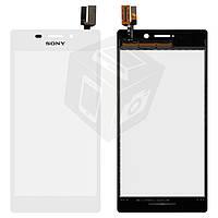 Touchscreen (сенсорный экран) для Sony Xperia M2 D2302/D2303/D2305/D2306, оригинал (белый)