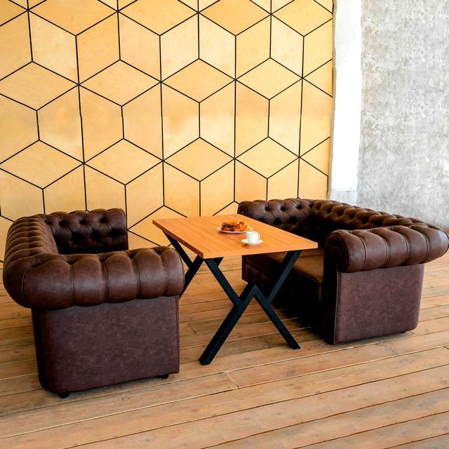 Комплект мягкой мебели для кафе