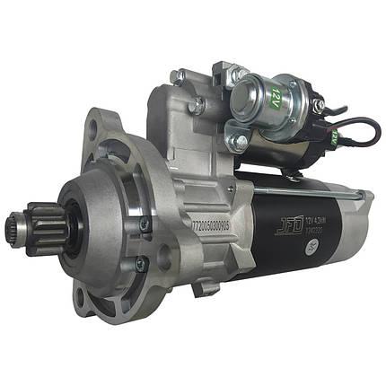 Стартер редукторний CLAAS (КЛААС) JFD 12В 4,2 кВт арт. 1242320 (аналог Jubana 123708320), фото 2