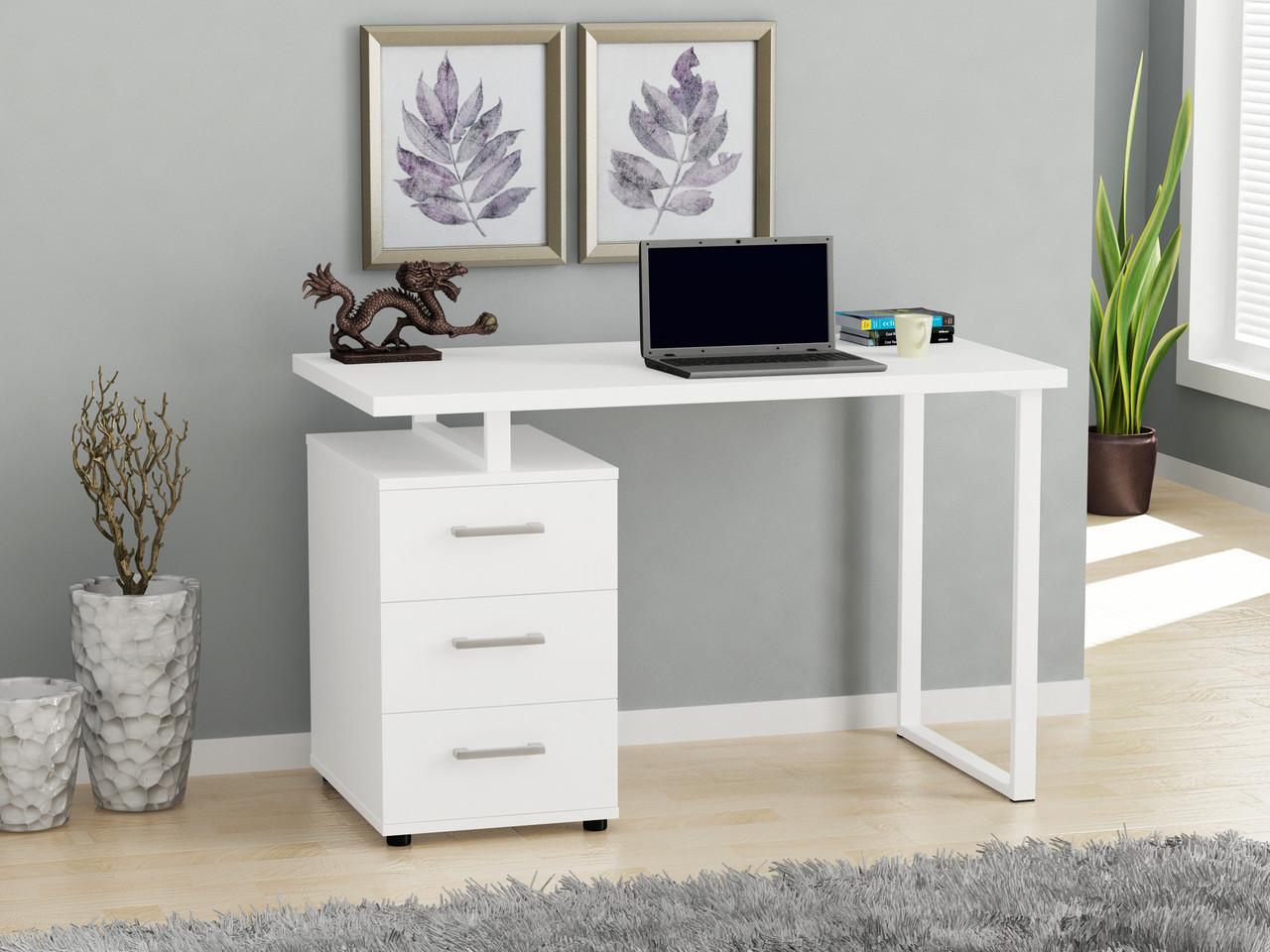Письменный стол Loft design L-27  Нимфея Альба