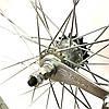 """Колесо заднє на черв'ячної втулці 24"""" сталевий нікельований обід, фото 4"""