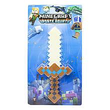 Меч Minecraft коричневый, 38 см