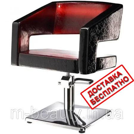 Парикмахерское кресло для салона красоты Йоко механизм подъема пневматика/гидравлика Польша