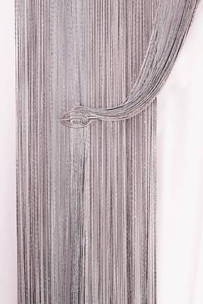 Шторы-нити Кисея Дождик Радуга № 17207, фото 2