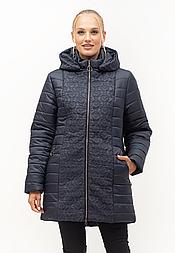 Стёганная женская куртка на силиконе