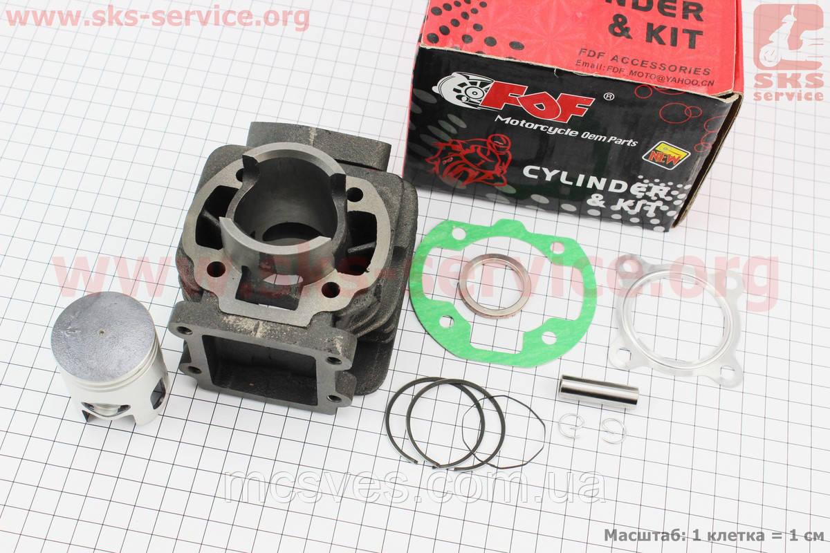 Цилиндр к-кт (цпг) Yamaha BWS/2JA 50сс-40мм (палец 10мм) (JOG 1;JOG 2;JOG Minarelli;Champ; Slider)