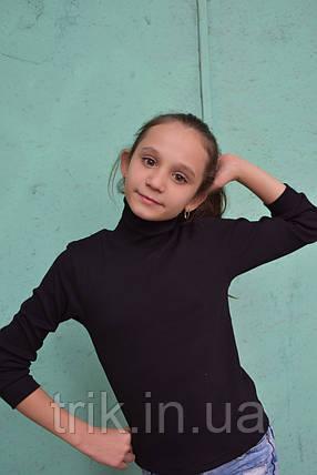 Гольф черный подростковый, фото 2