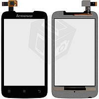 Сенсорный экран (touchscreen) для Lenovo A369i, черный, оригинал