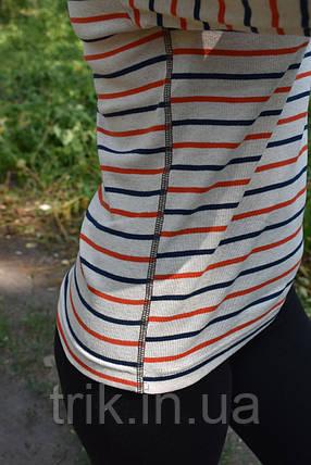 Джемпер полоски на светлом, фото 2