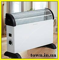 Конвектор электрический напольный Crownberg CB-2000. Конвекторный обогреватель. Электроконвектор настенный