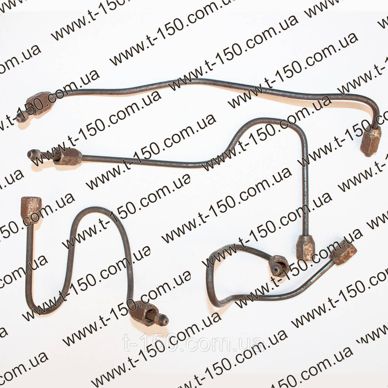 Топливопровод ВД СМД-18(к/т 4шт.) гнутые (14Н-15С3-4(С4,С5,С6))