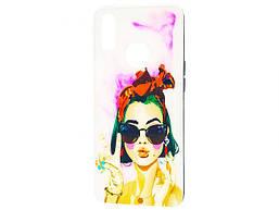 Чехол для Samsung Galaxy A10s SM-A107F Girls UV Peace