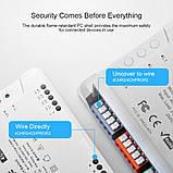 Sonoff 4CH R3 WiFi16А 3500W AC 220V 4-х канальный интеллектуальный Wi-Fi  Smart модуль реле, фото 6