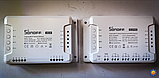 Sonoff 4CH R3 WiFi16А 3500W AC 220V 4-х канальный интеллектуальный Wi-Fi  Smart модуль реле, фото 8