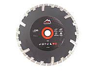 Диск алмазный универсальный Vulkan ZY-TS230 230*22,23 мм турбо-сегмент