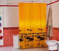 "Шторка для ванной ""Miranda"" 180х200см. FLAMINGO."