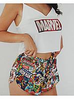 Женская шелковая пижама MARVEL
