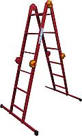 Лестница-трансформер ELKOP M 4x3 стальная, 3.3 м