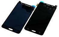 Дисплей для Samsung J510 Galaxy J5 (2016) черный, с тачскрином China Original (amoled)