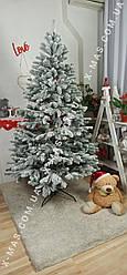 Засніжена ялинка лита 1,8 метра Ковалевська