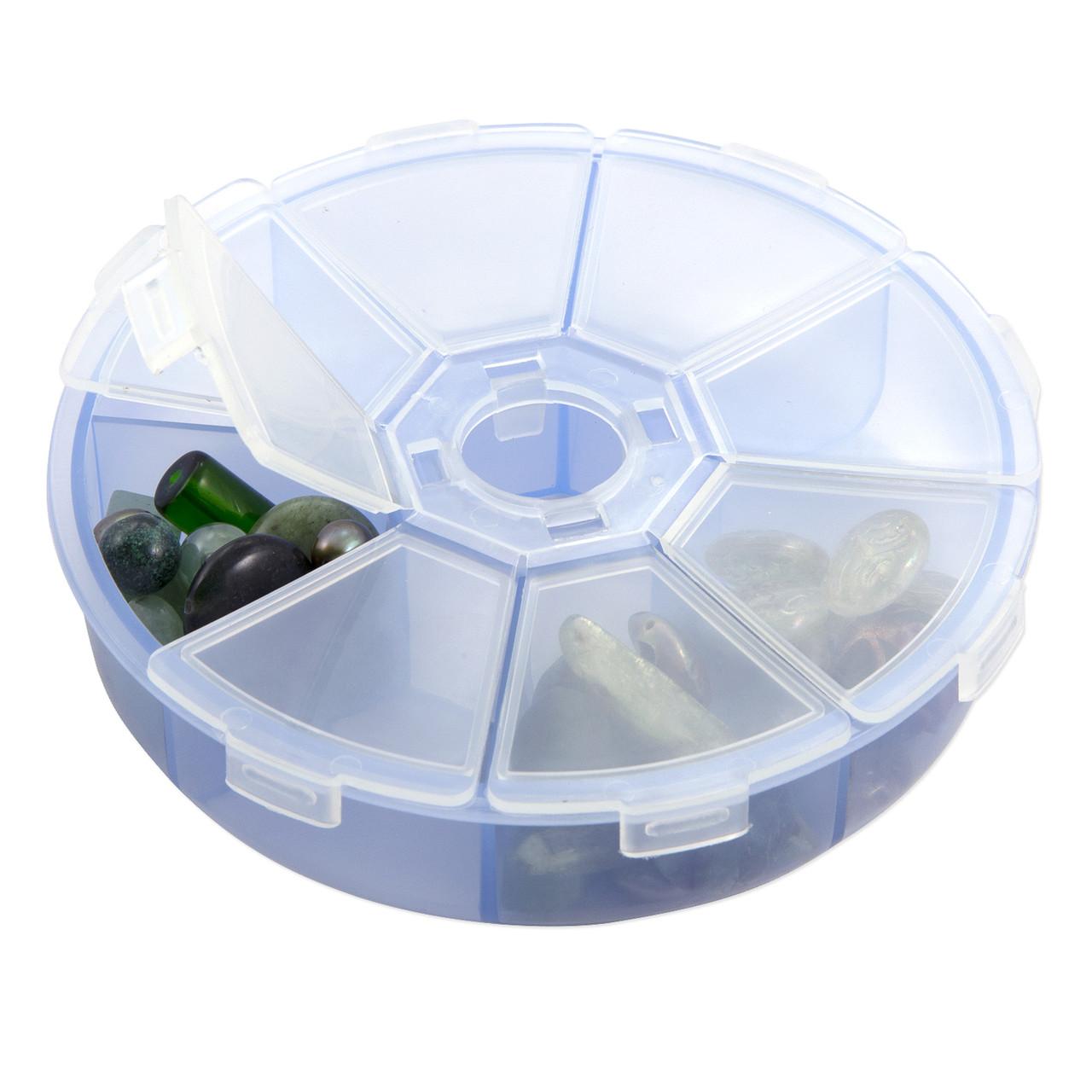 Пластиковый круглый органайзер на 8 отделений
