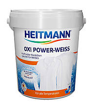 Кислородный отбеливатель для белого белья 750г ведро Heitmann