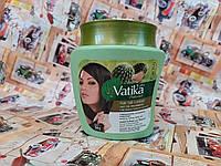 Маска Дабур Ватика для волос контроль над выпадением, Mask Dabur Vatika Virgin Nourishing, 500гр