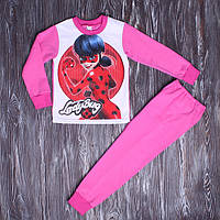 Пижама для девочки с начесом Леди Баг 110-134 см