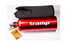 Похідна пляшка в неопреновому чохлі Tramp TRC-032 1л Red, фото 3