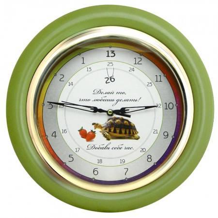 Часы идут в обратную сторону Добавь себе час (зеленый), фото 2