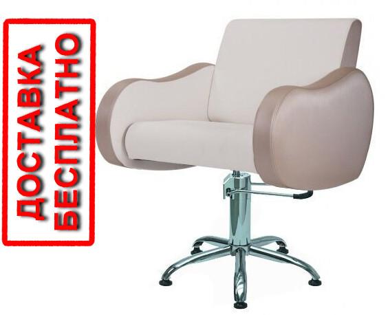 Парикмахерское кресло для клиентов парикмахера  WENDY Парикмахерские кресла с оригинальными подлокотниками