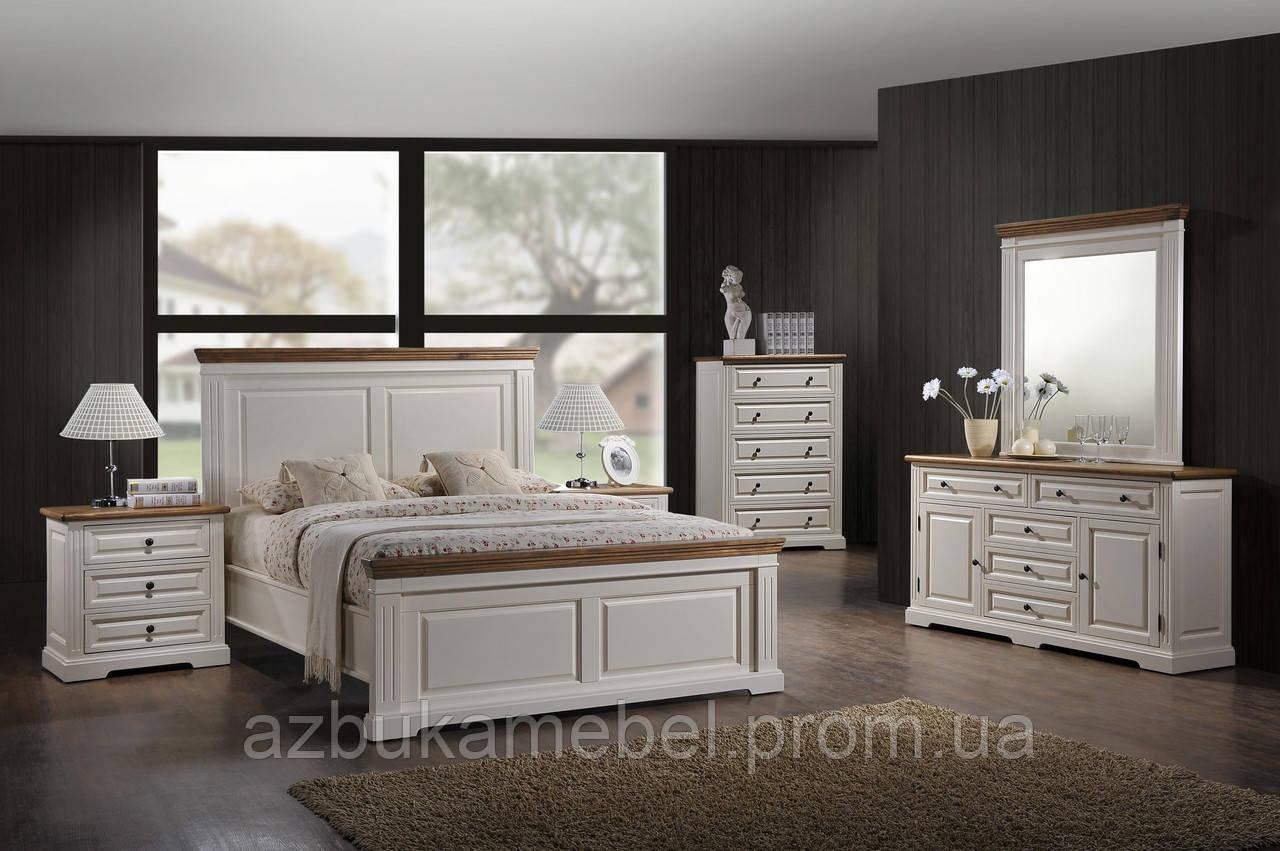 """Кровать 1,8""""Калифорния"""" (античный белый) - Интернет магазин """"Азбука мебели"""" в Одессе"""