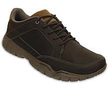 Туфли мужские деми Кроксы Свифтвотер Хайкер оригинал / Crocs Mens Swiftwater Hiker Shoe (203392), Коричневые