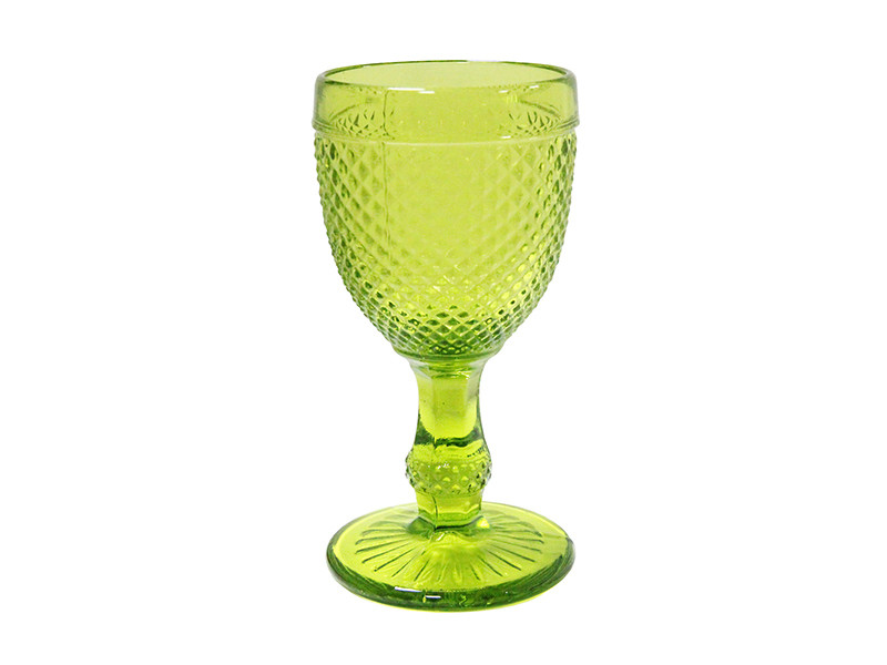 Бокал яркий светло зеленый Амбер OLENS 150мл 16952-20-1