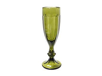 Зелений келих для шампанського Відень 150мл