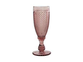 Келих для шампанського Амбер рожевий 150мл