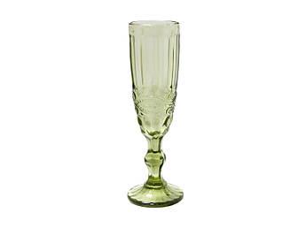 Келих для шампанського Вінтаж зелений 150мл