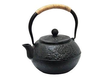 Чугунный заварочный чайник Пион 1,2л