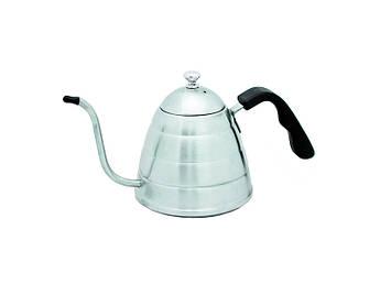 Заварочный чайник из нержавеющей стали Элит кофе 1л