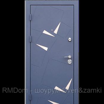 Входная дверь Very Dveri серия Алькор металл/МДФ (светлая внутри)