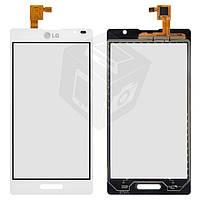 Touchscreen (сенсорный экран) для LG Optimus L9 P760 / P765 / P768, белый, оригинал