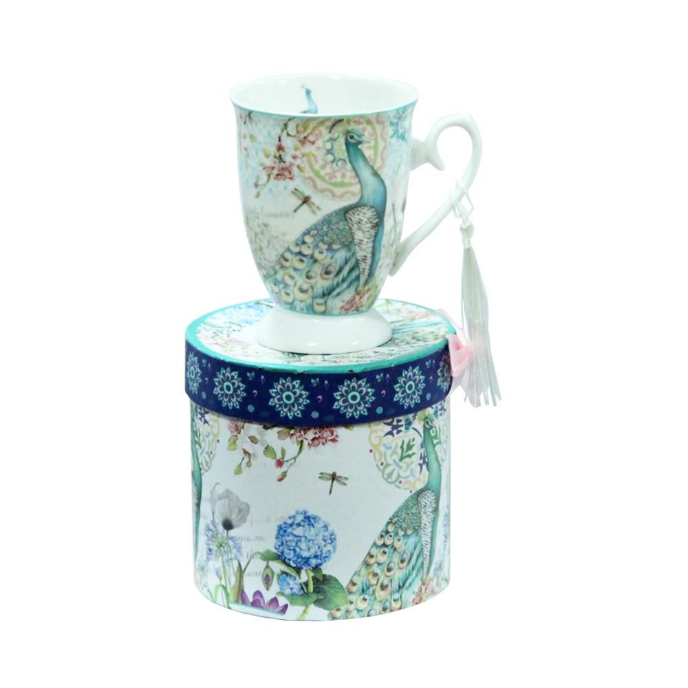 Чашка подарунковій коробці Павич 300мл