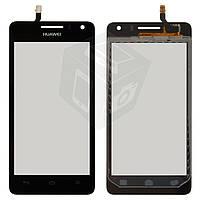 Touchscreen (сенсорный экран) для Huawei Honor + G600 U8950, оригинал, черный