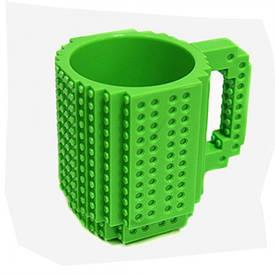 Кружка конструктор (зелена)